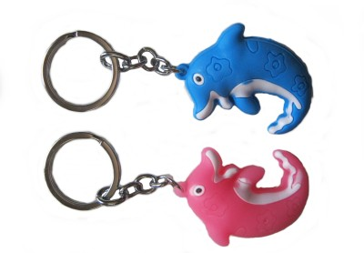 Optimum Deal Fish Shaped PVC Rubber Key Chain