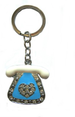 Optimum Deal Cute Telephone Shape Metal Key Chain