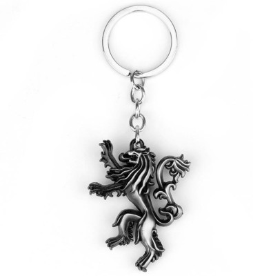 Optimus traders Game of Thrones Family crest House Lannister 3D 5cm Locking Key Chain