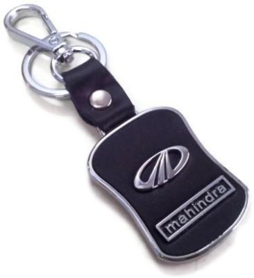 Kairos Premium Quality Mahindra Leather Key Chain