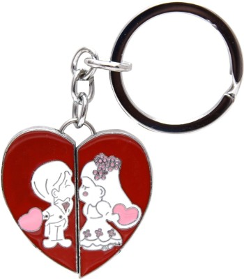 Oyedeal Couple With Heart I LUV U Key Chain