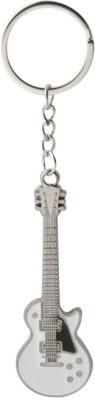 KeepSake White Guitar Key Chain