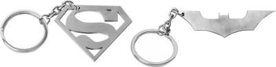 Castor superman batman Locking Key Chain