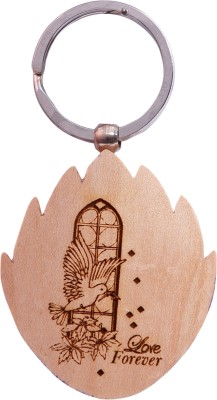Oyedeal Express Love KYCN356 Wooden Engraved Key Chain