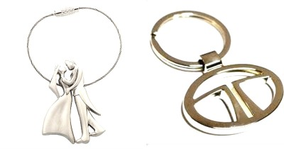 99DailyDeals R90 Combo Of 2 Romantic Couple And Tata Keychain Key Chain