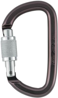 Petzl Aluminum Carabiner Am, D Screw Lock Locking Carabiner