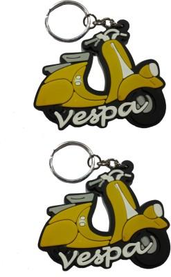 FCS Vespa Rubber Key Chain