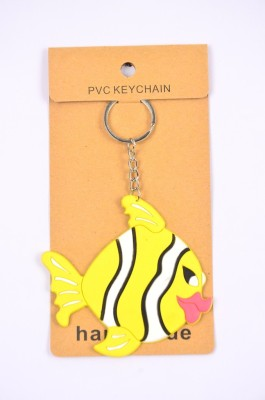 Shrisay Ventures Yellow Fish Pack Opf 2 Key Chain
