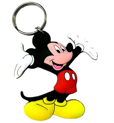FCS Lucky Mickey Mouse Rubber Key Chain