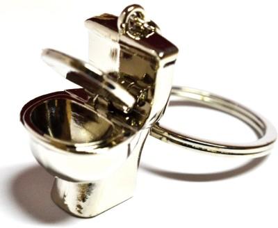 Tech Fashion Potty Toilet Seat Locking Key Chain
