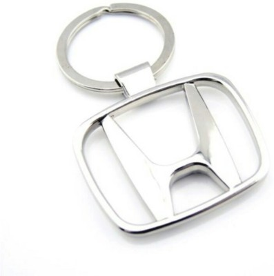 ElectriBles Honda Silver Key Chain