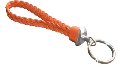 Cuero CUERO LEATHER ORANGE KEYCHAIN Key Chain