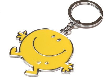 Thinksters Big Smiley Keychain Carabiner