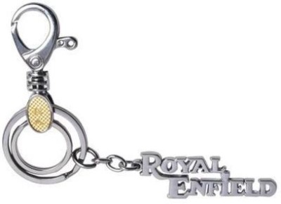 Homeproducts4u Royale Enfield With Hook Locking Key Chain
