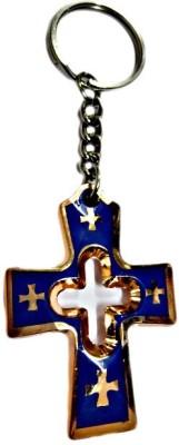 DCS Jesus Cross Keychain Locking Carabiner