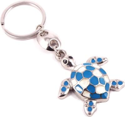 VeeVi Blue Tortoise Good Luck Key Chain