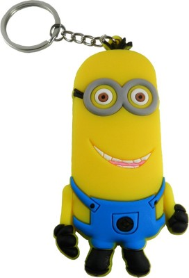 Techpro Minion Kevin smiling double side Key Chain