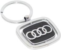 Aura Imported Audi Double Sided Revolving Locking Key Chain
