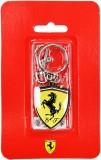 Ferrari Scudetto Metalic Keyring Locking...