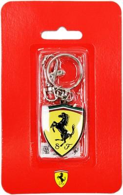Ferrari Scudetto Metalic Keyring Locking Key Chain