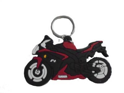 Spotdeal SDL640 Yamaha bike Rubber keychain Carabiner