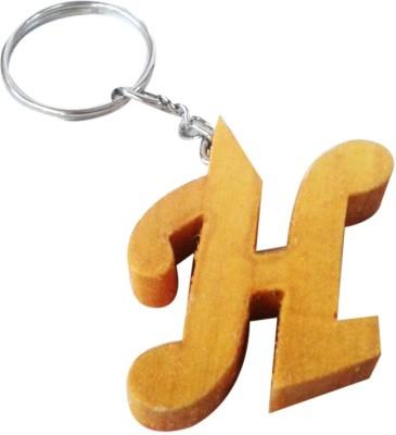 Tarun Industries Alphabet H Key Chain