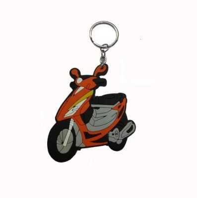 Abzr Abzr Orange Sooty Rubber Keychain Key Chain