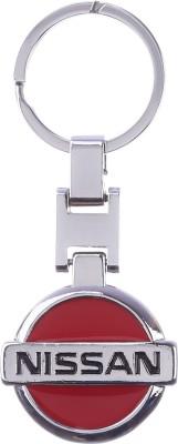 Confident Multi Color Nissan Car Logo Key Chain