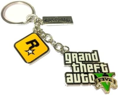 Grand Theft Auto Limited Edition Keychain - GTA 5 - Rockstar Key Chain
