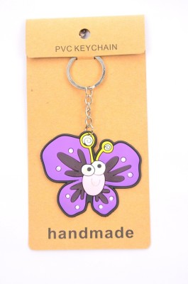 Shrisay Ventures Purple Butterfly Pack Of 2 Key Chain