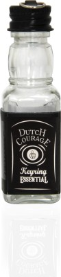 Thumbs up Dutch Courage Keyring Key Chain