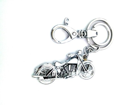 Ezone Bullet Bike Metal Locking Key Chain