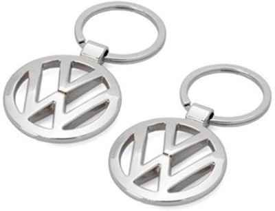 Homeproducts4u Volks Wagen Key Chain Pack Of 2 Key Chain