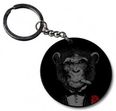 Shoppers Bucket Monkey Business Key Chain