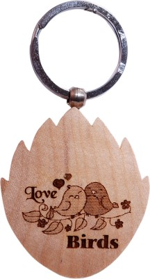 Oyedeal Express Love KYCN360 Wooden Engraved Key Chain