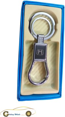 Gliding Wheels Honda Key Chain Locking Key Chain