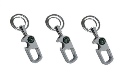 Ezone Digione Curved Gate_pack of 3 Locking Key Chain