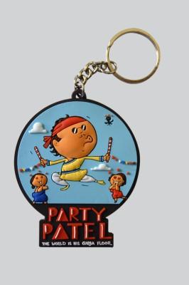 Chimp Party Patel Key Chain