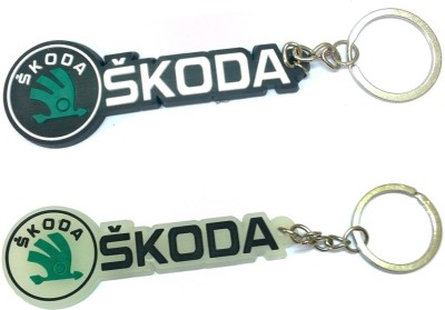 AA Retail Skoda Combo Soft Rubber Key Chain