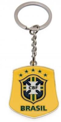 Brasil Crest Keyring Key Chain