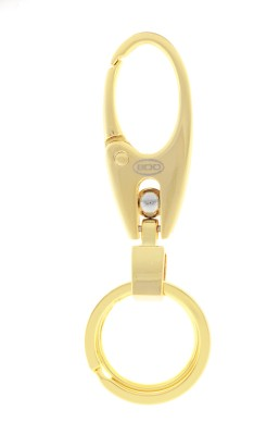 VeeVi BDD Gold Color Hook Key Chain Locking Key Chain