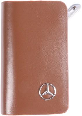 Heaven Deal Mercedes Big Brown Key Chain Car Remote Holder Locking Carabiner