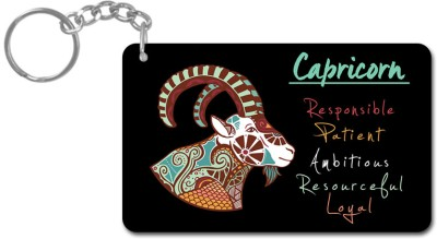 Lovely Collection Zodiac Sign Capricon Key Chain