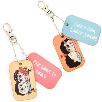 Little India COMB457 Locking Key Chain