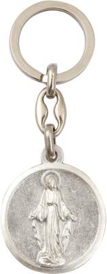 Jula Silver Finish Keychain Locking Key Chain