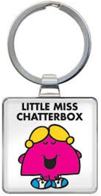 That Company called If LITTLE MISS CHATTERBOX KEYRING Key Chain