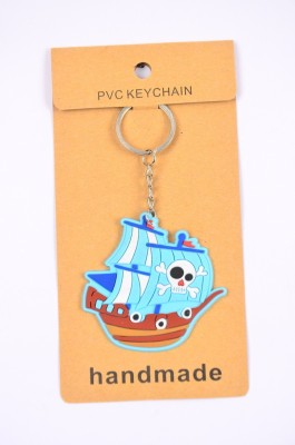 Shrisay Ventures Blue War Ship Pack Of 2 Key Chain