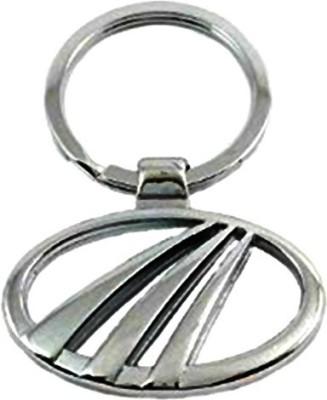 Tech Fashion Mahindra Logo Locking Key Chain