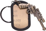 Oyedeal Pistol Full Metal Key Chain (Mul...