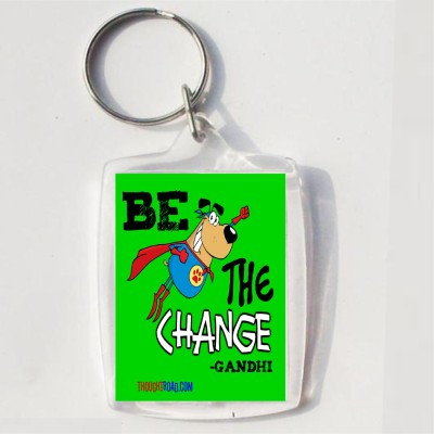 Thoughtroad BE THE CHANGE Key Chain